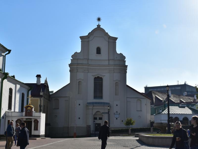st losif roman catholic church ベラルーシ観光