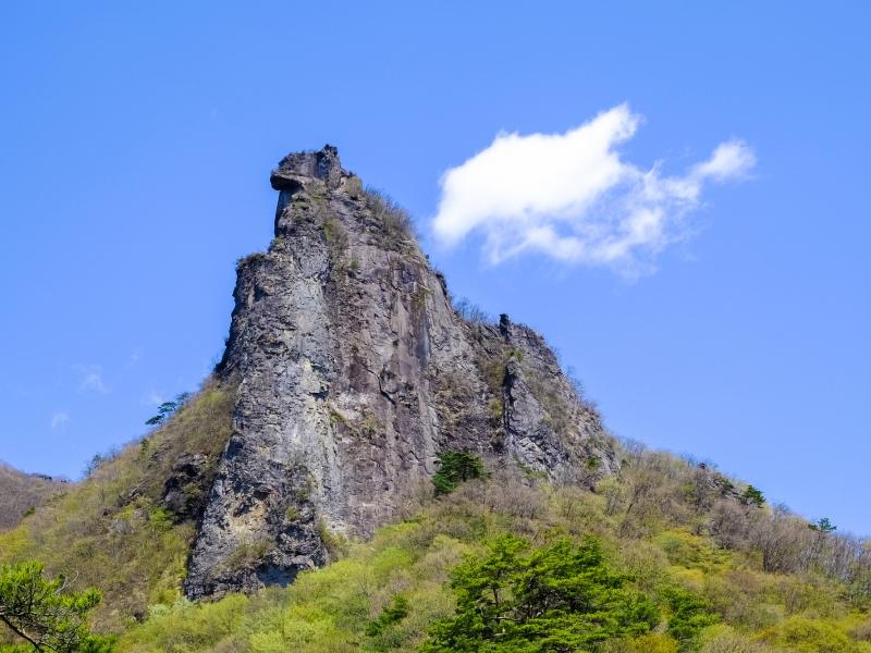 獅子岩(子持山) | 渋川市観光