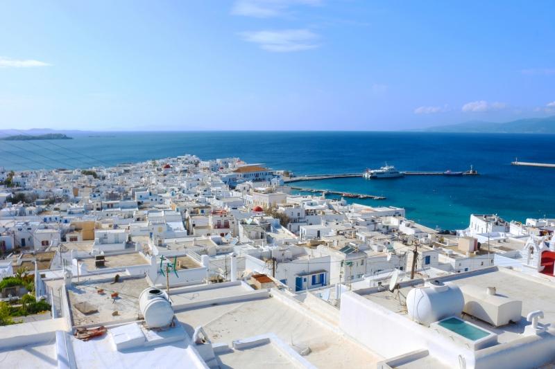ミコノス島の写真   ギリシャ観光