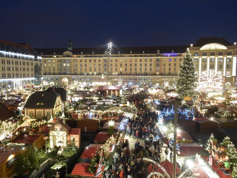 ドレスデンのクリスマスマーケット [Dresden Christmas Markets